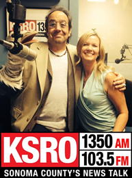 Steve Jaxon and Karissa Kruse at KSRO