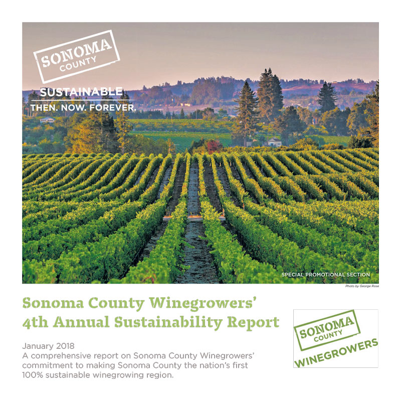 Sonoma County Winegrowers Annual Sustainability Report
