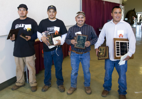 2014 Sonoma County Pruning Championship winners