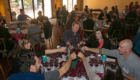 Sonoma Summit 2015 group cheers with red wine